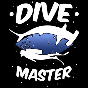 Taucher Tauchlehrer Hai Tauchen Urlaub Geschenk