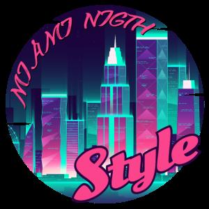 Miami Night Style Geschenk