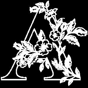 A Letter Flower Geschenk