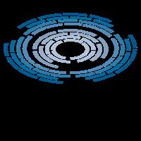 Labyrinth rund muster