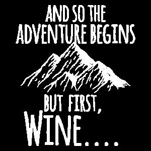 Adventure Wandern Berg Geschenk Klettern