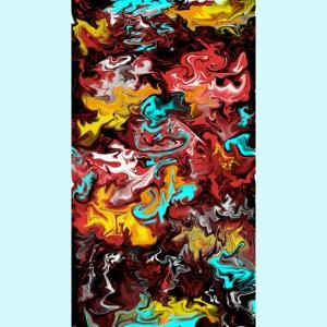 Verrückte Flammen // crazy flames Cloud Style