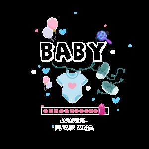 Super schönes Baby loading für die Schwangerschaft