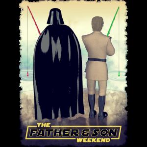 Vader und Luke Wochenende