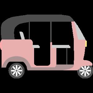 Tuktuk Asien