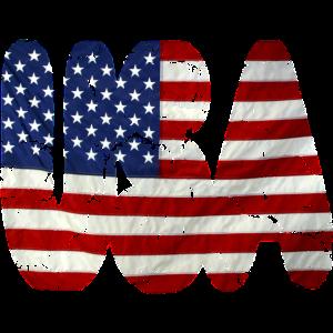 USA flag vintage stars and stripes