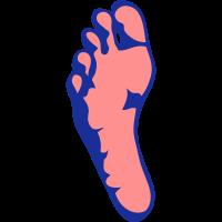 Fußabdruck 2