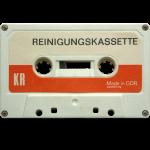 vintage tape: reinigungskassette