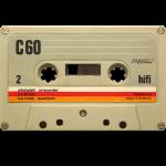 vintage tape: C60