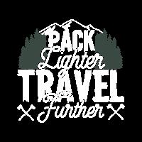 Packen Sie leichter Reisen weiter