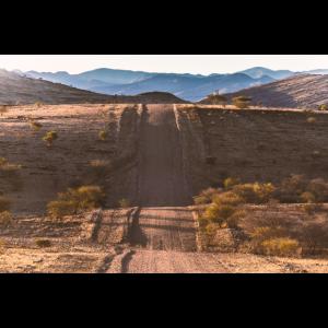 Strasse in Namibia
