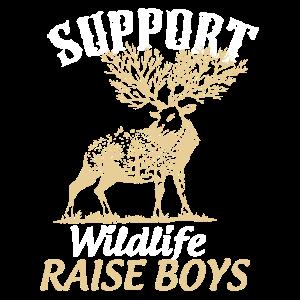 Unterstützen Sie Wildlife-Jungen