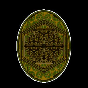 Muster Shirt Heilige Geometrie Goa Trippy Geschenk