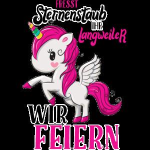 Einhorn JGA-Shirt Junggesellinnenabschied Unicorn