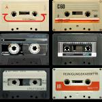 vintage tape: 6 tapes