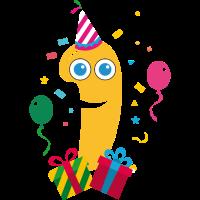 Geschenk 1. Geburtstag oder ein Jahr Jubiläum