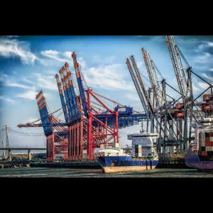 Hamburger Hafen ,Geschenke