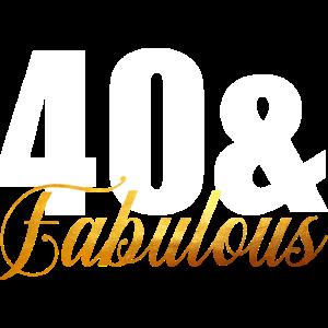 40 & fabelhaft