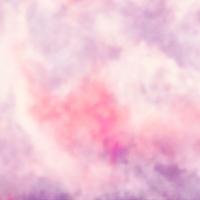 Rosa Wolken Aquarell Himmel