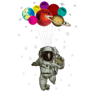 Raumfahrt mit Luftballons