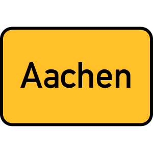 Aachen Schild