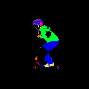 Stunt Scooter Neon
