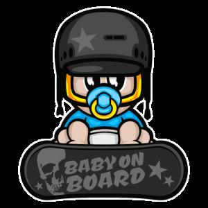 baby wintersport snowboarden