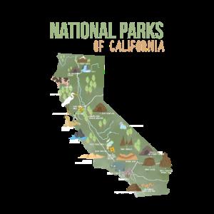 Nationalpark Kalifornien USA Geschenk