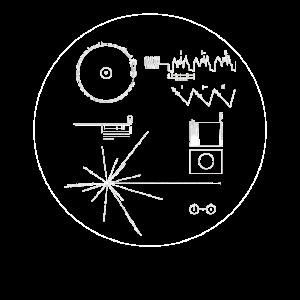 Voyager Golden Record NASA Geschenk