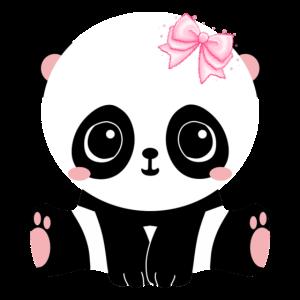 Nettes Panda-Baby