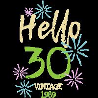 Geburtstags Party 30 Jahre Vintage Classic