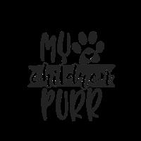 my children purr Geschenk