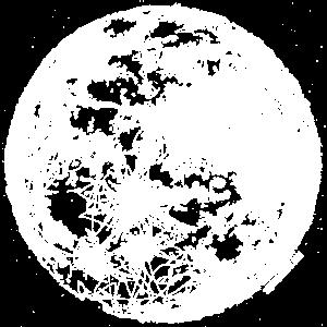 Scribbled Moon