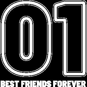 01 Best Friends Forever beste Freundinnen Geschenk