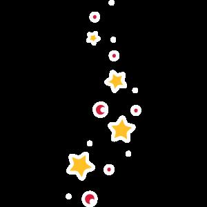 Kleine Sterne Sternchen Deko Seifenblasen
