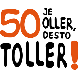 """Geburtstag T-Shirts mit """"50 je oller"""""""