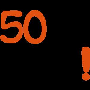 Je oller 50. Geburtstag
