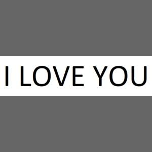 Liebe ist alles.