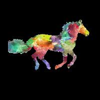 Popart Pferd