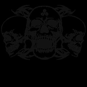 skull triskele