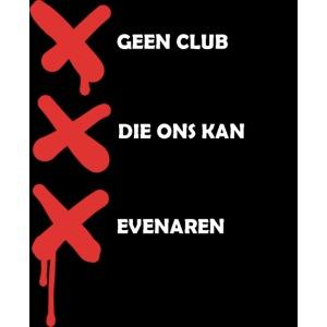 Geen club die ons kan evenaren