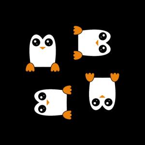 Süßer Pinguin - lustiges valentinstagsgeschenk