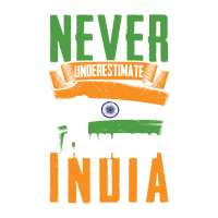 Unterschätze Niemals Indien