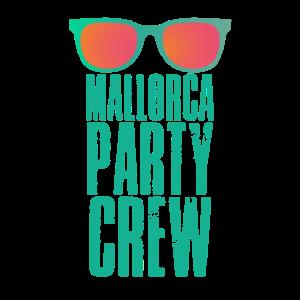 Malle Party Crew Team Shirt Urlaub Saufen Geschenk