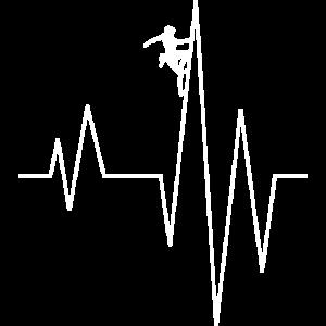 Klettern Puls Herzschlag Adrenalin