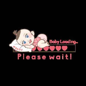 Baby loading - Baby girl is coming Geschenk