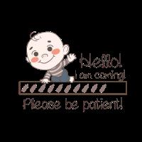 Baby is coming - Babyparty Babyshower Geschenk
