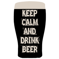 Keep calm and drink beer - St Patricks Day