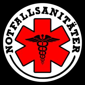 Neue coole Abzeichen Notfallsanitäter Rettung 112