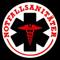 NotfallsanitäterAbzeichen Medizin RTW Rettung 112